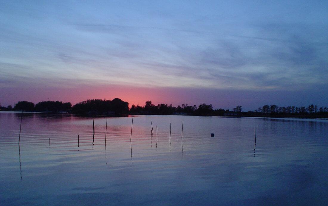 Langs het water van Friesland