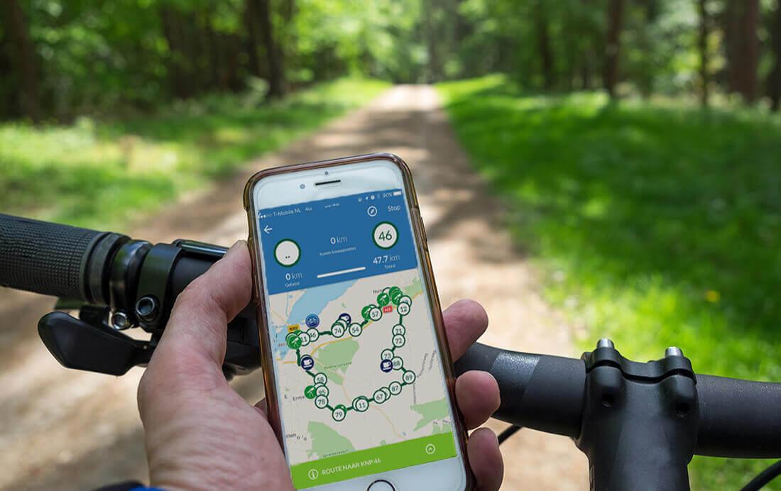 Vanaf juli 2019 geen fiets app meer