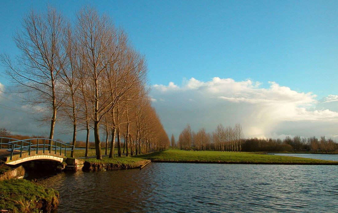 Fietsroute Beemsterland