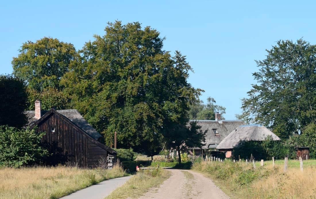 Gortelse boerderijtjes