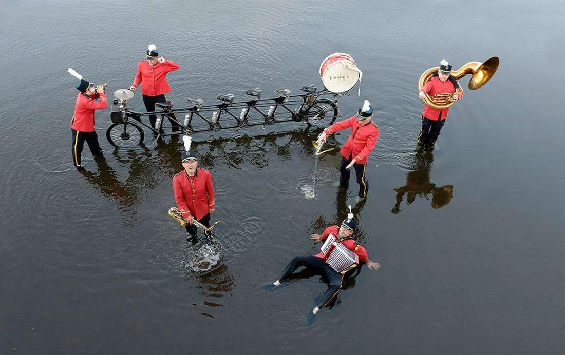 Het Fietsorkest: Een muzikale fietsroute