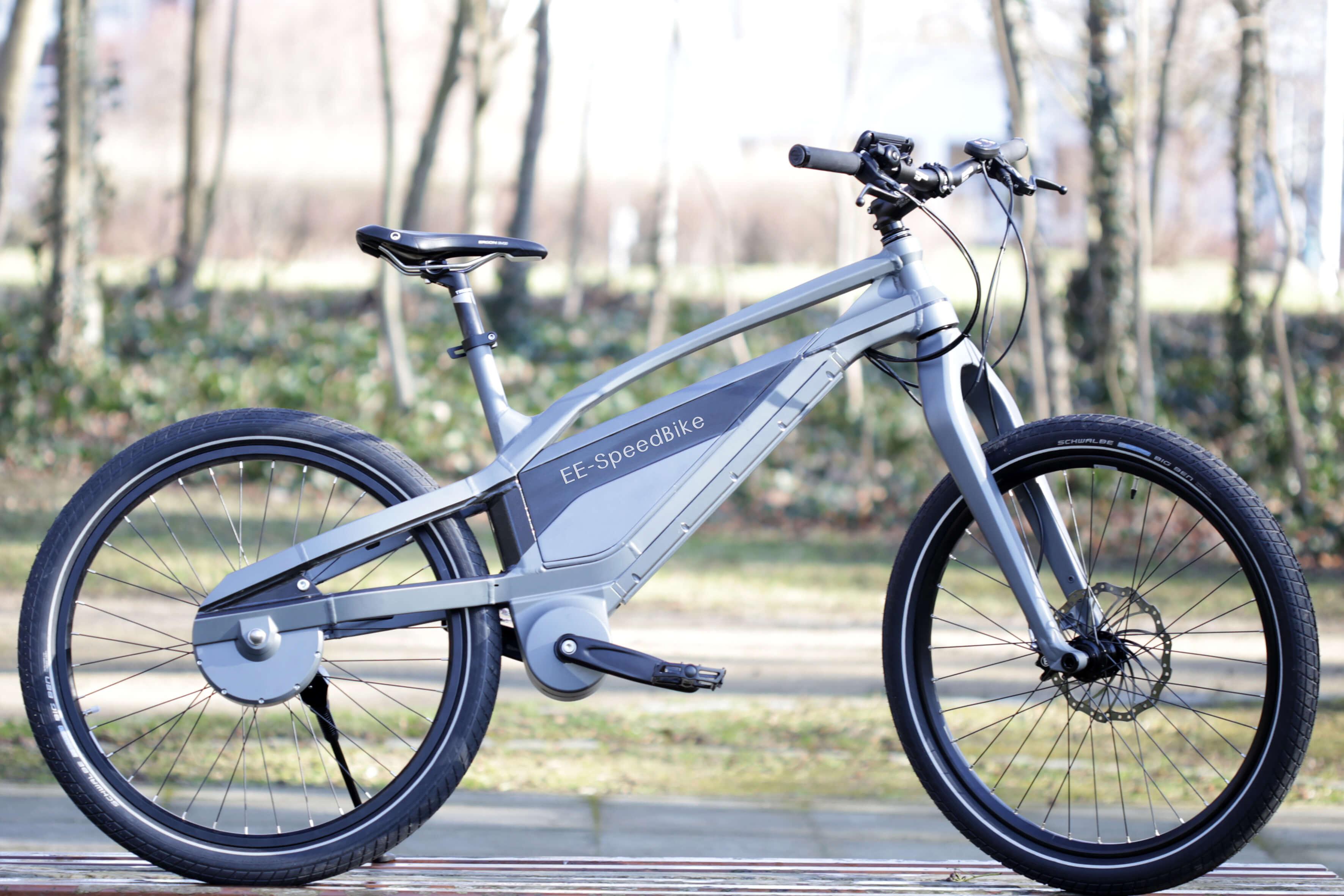 Eerste elektrische fiets zonder ketting
