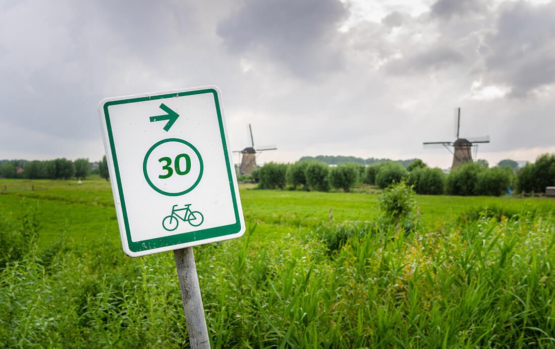 Fiets door de kleinste steden van Nederland