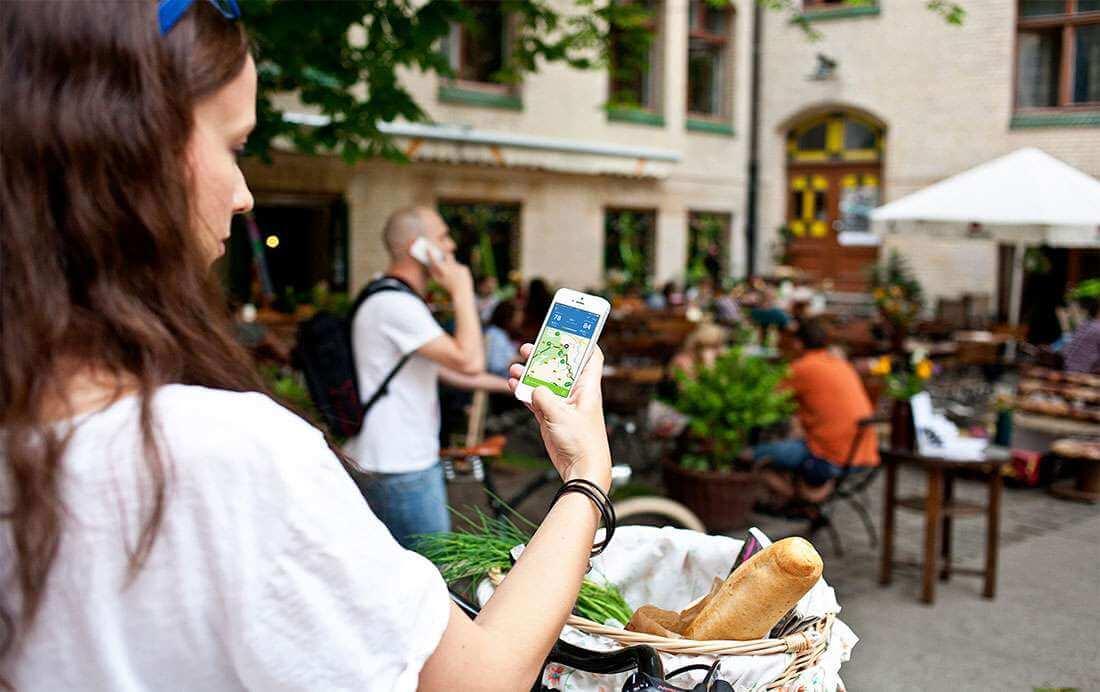 Fietsnetwerk App uitgelegd: het routeoverzicht