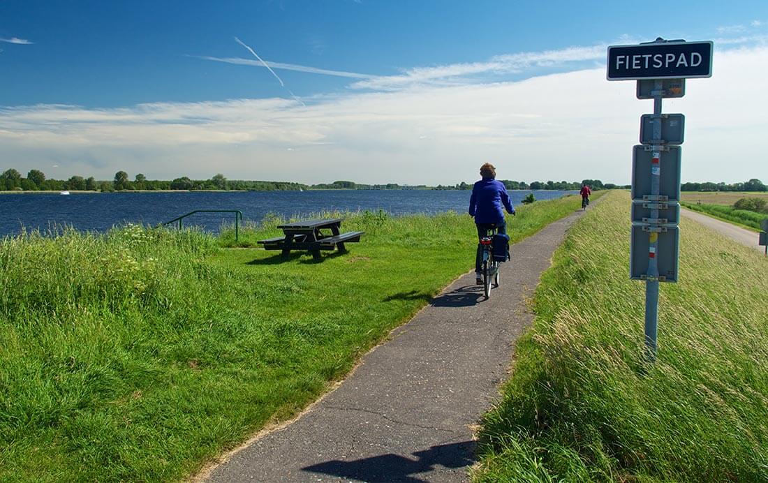 Nieuw: Rondje randmeren op de fiets