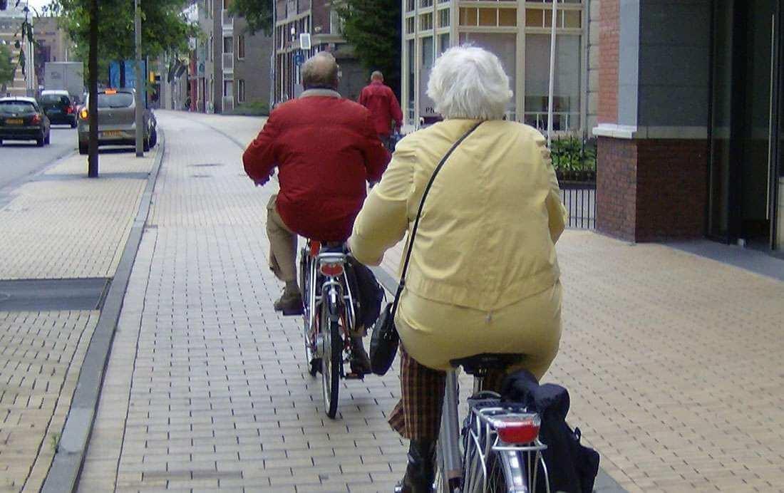 Workshops en fietscoach voor oudere fietsers